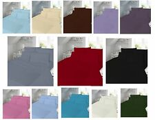 Luxury Percale Fitted Sheet Or Flat Sheet or Valance/pillow pair Sheet all Sizes
