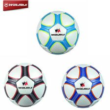 WINMAX Best TRAINNG FOOTBALL Size 5 3.0mm Soccer Ball Machine Stiched PVC Rubber