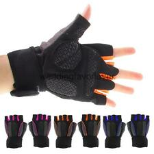 Professional Half Finger Gloves Motorcycle Bike Bicycle Riding Cycling Gel Glove