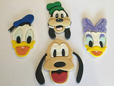 Disney Inspired Cake Toppers Donald & Daisy Duck Goofy and Pluto
