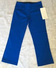 *NWT $78 Lululemon Gather & Crow Crop Full On Luon Capri Pants Blue Size 2 4 6 8