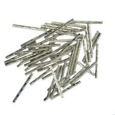 50pcs Engraved Straight Noodle Tube Spacer Beads 25mm Jewelry Making Findings