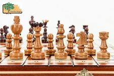 LARGE UNIQUE BEAUTIFUL CHESS SET ONE OF THE MOST POPULAR IN FANTASTIC PRICE