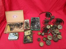 Old Clock Parts Springs Etc.