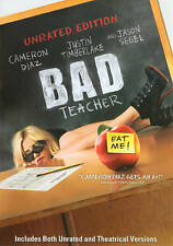 Bad Teacher (DVD 2011)Unrated & Theatric Edition Cameron Diaz Justin Timberlake
