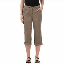 Maine New England Womens Taupe Ribbed Waist Trousers From Debenhams