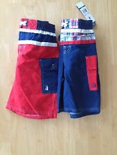 Rugged Bear Boys Swim trunk SZ 5 6 Blue swim Trunk NEW