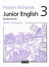 ,Haydn Richards Junior English Book 3 with Answers