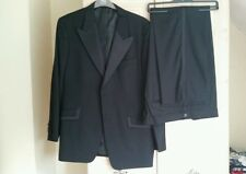 Mens Formal Black Dinner Suit with Ribbon Trim from Taylor and Wright