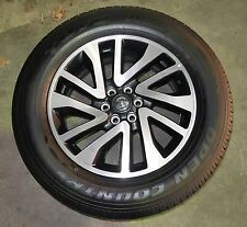 "4X GENUINE NEW 18"" NISSAN NP300 STX RIMS WHEELS & 255/60R18 TOYO AT TYRES"