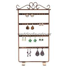 24 Pairs Earrings Ear Studs Holder Stand Jewelry Display Show Rack Multi