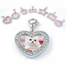 1Pc Pet ID Tags Crystal Rhinestone Personalized Puppy Pet Dog Cat Name Tag Charm