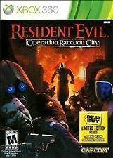 Resident Evil: Operation Raccoon City (Microsoft Xbox 360, 2012)  DISC
