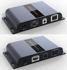 HTbitT HDMI extender over Fiber optic IP extender IR up to 20KM(receiver only)