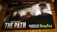 THE PATH HULU TV Michelle Monaghan AARON PAUL 5FT SUBWAY POSTER 2016