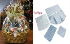 """*YOU CHOOSE QTY!* 23""""x19"""" Dome Shrink Wrap Film Gift Bags (100 Gauge) CLEAR"""