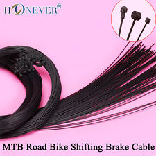4pcs Teflon Coated Shifting Brake Inner Cable Sets 1100mm 1550mm 1700mm 2100mm