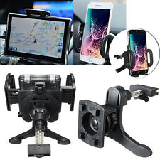 "-MD290 360° Car Air Vent Holder Stand Mount Cradle For 4-7"" Call Phone GPS Apple"