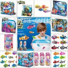 Genuine ZURU RC Robo Fish, Robo Mermaid, Tropical Pirate Mermaid Play Sets