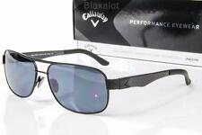 NEW CALLAWAY TRESTLES SUNGLASSES Black/Carbon Fiber / NEOX 14 Blue-Grey lens