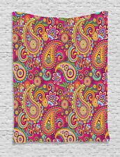 Paisley Patterns on Traditional Asian Culture Design Print Wall Hanging Tapestry