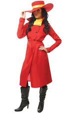 Brand New Where in the World Carmen San Diego Spy Women Adult Costume
