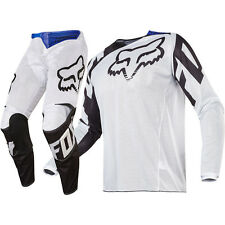 Fox Racing 2017 Mx NEW 180 Race Airline White Black Vented Motocross Gear Set