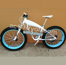 Hot Bicycle Electric Snow Bike SHIMAN0 Mountain Bike,electric mountain bicycle