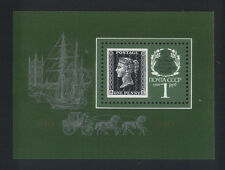 RUSSIA, 1990 - Postal History Mail Coach Sailboat Penny Black - MNH - S/S