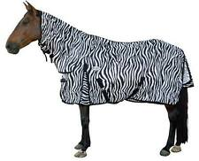 CARIBU Zebra Mesh 270gsm Fly Air Mesh Neck Combo Horse Rug, Cool & Durable.