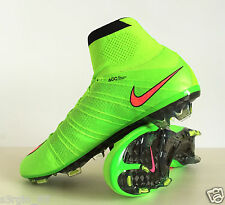 Nike Mercurial Superfly FG 641858-360 Electric Green CR Rare Soccer Cleats