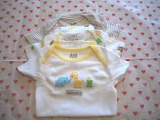 CARTERS  CHILD OF MINE 3 PACK BOYS BODYSUITS ANIMALS