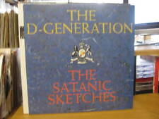 "THE D GENERATION THE SATANIC SKETCHES VINYL RECORD 12"" w/INNER"