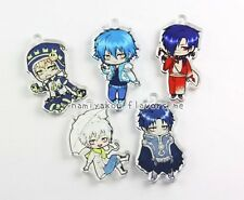 Cute Dramatical Murder Chibi Acrylic Charms, Yaoi Anime Key Chains, DMMd Aoba
