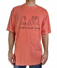 NWT TOMMY BAHAMA MEN'S GRAPHIC TEE 'EARLY BIRD GETS THE WORM' S/S ORANGE