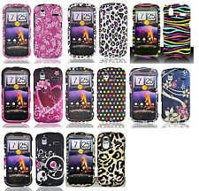 Hard Design Protector Snap on Cover Phone Case for HTC Amaze 4G / Ruby T-Mobile