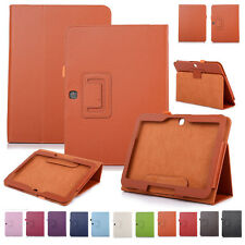 """Slim Folding Leather Cover For Samsung Galaxy Tab 3 10.1"""" GT-P5200 Stand Case"""