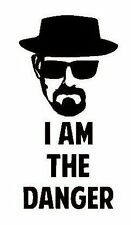 Breaking Bad Heisenberg I Am The Danger Vinyl Decal Sticker for Car, Van, Bike