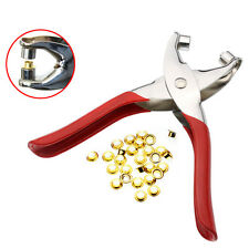 5mm Hole Hand Belt Eyelet Punch Pliers Watch Band Gaskets Holes Punches Tool