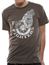 Official Foo Fighters Wings Wheel T Shirt - All sizes