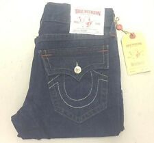 True Religion Ricky Core Vintage Straight Navy Mens Jeans FREE SHIPPING