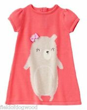 NWT Gymboree WOODLAND WONDER 12 18 24mo 2T 3T 4T 5T Bear Sweater Dress