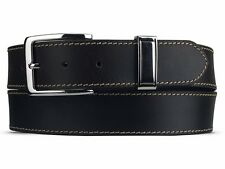 Genuine Fashion Leather Mens New Quality Waist Belt WEAR Federico Stitched LYNE