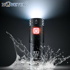 Waterpoof Bicycle Headlight USB Charging Battery Stand Frame Bike Front Light