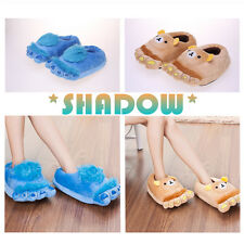 Unisex Furry Adventure Slippers Shoes  Autumn And Winter Warm Home Indoor Shoes
