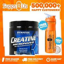 DYMATIZE MICRONIZED CREATINE MONOHYDRATE 300G UNFLAVOURED STRENGTH RECOVERY SIZE