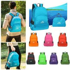 Unisex Foldable Ultra Lightweight Backpack Hiking Camping Rucksack Daypack 20L