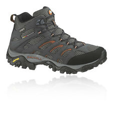 Merrell Moab Mid Womens Grey Gore Tex Waterproof Walking Hiking Boots Shoes