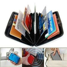 New Aluminum Metal Business ID Credit Card Wallet Holder  Pocket Case