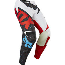 Fox Racing 2017 Mx Gear NEW 180 Nirv Red White Blue Dirt Bike Motocross Pants
